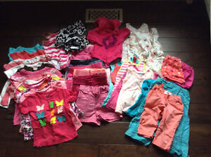 Lot girls 2T summer clothes