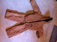 Boys snow suit and cleats for sale