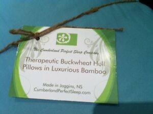 NEW therapeutic buckwheat hull pillow