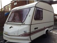 2 berth Sprite alpine excellent dry condition with awning and extras
