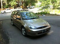 FORD FOCUS FAMILIALE ZTW 2003 - 120,000KM (STATION WAGON)