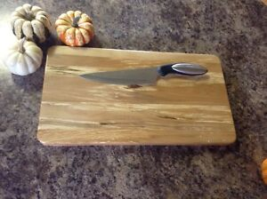 Maple butcher block and cheese board Peterborough Peterborough Area image 3