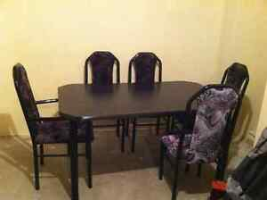 Kitchen table with 6 seats