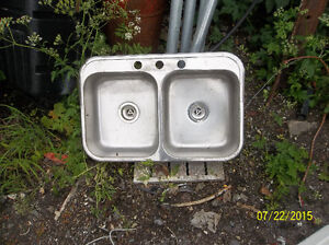 STAINLESS STEEL DOUBLE SINK St. John's Newfoundland image 1