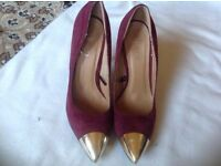 Fiore ladies heels shoes size: 4/37 used £2