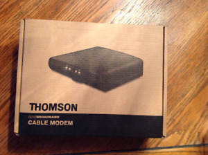 Thomson cable moden DCM476.  in the box!