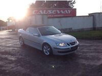 24/7 Trade sales NI Trade prices for the public 2007 Saab 9-3 1.9 TID Linear convertible