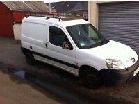 Peugeot Partner 1.6 HDI, Diesel, 8 months MOT, 56 Plate (Needs Attention)