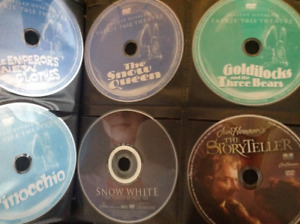 Shelley Duvalls Faerie Tale Theatre collection. 26 DVDs