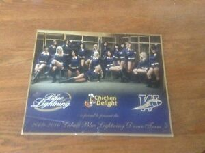 2009-2010 Labatt Blue Lightning Dance Team Calendar