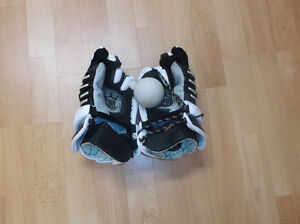 Lacrosse gloves and ball (negotiable)