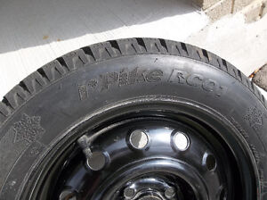 Snow tires on rims London Ontario image 2