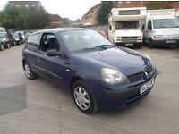 Renault Clio 1.2 16v Expression 3 DOOR - 2003 03-REG -10 MONTHS MOT