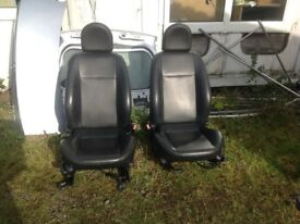 FORD KA LEATHER SEATS