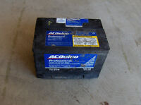 Free pick up and recycling of your old car/truck battery