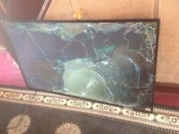 "JVC LT-55C550 55"" inch Full HD LED TV - SMASHED SCREEN £10"