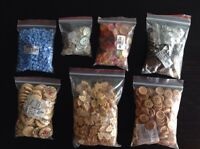 Beautiful buttons. 5 cents each for baby or adult clothing