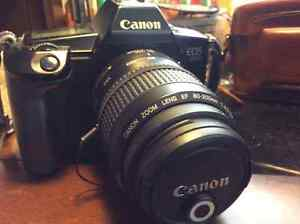Canon EOS 630 Film camera with EF 80-200 lens