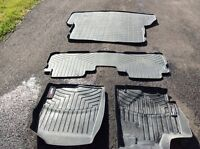 Weathertech mats for Toyota Highlander (2010-2013)