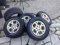 Tires and Jeep Rims for sale