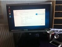 HP Desktop with Monitor