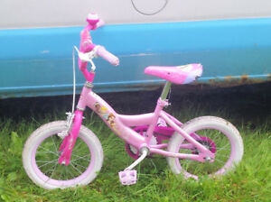"""free 14"""" bike for girl age 3 to 6 - Smiths Falls/Athens area"""