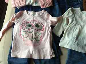 Gap warmest down coat & 24 month girls clothes London Ontario image 5
