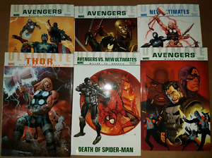 Hard Cover Trade Paperbacks - $10 each. 18 to choose from.