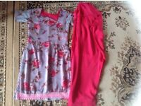 Indian suit 2 pieces used £2 chest size: 32