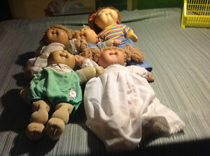 Cabbage patch dolls""