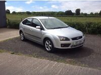 2006 Ford Focus 1.6 TDCI sport silver full mot 5 door