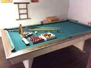 Table de billard 8.4 x 4.8 pieds