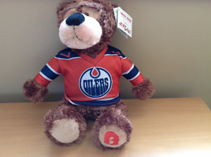 Limited edition Brand new Oilers teddy bear