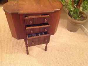 Antique Knitting/Sewing cabinet London Ontario image 3
