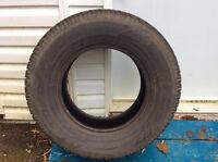 4 pneus d'hiver Toyo Observe GSI5.  215/75R15