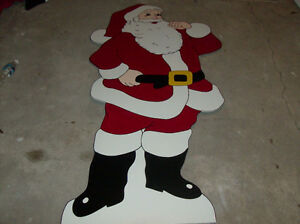 Christmas hand made lawn decorations ornaments London Ontario image 2