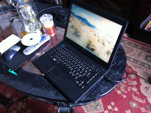 Portable Dell  E5400 ecran 14,1 Intel core 2 batterie neuve