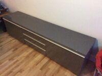 Meuble de TV gris a vendre!!!!!!