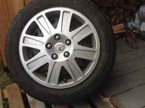 P205/55R16 Tires, Rims & Toyota Hubcaps For Sale
