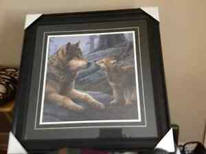 Mother wolf and cub London Ontario image 2