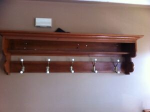 5 hook coat rack 150.00 OBO