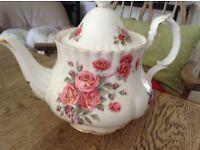 Royal Albert tea pot.