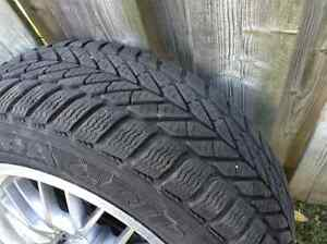 Snow Tires and Alloy Rims