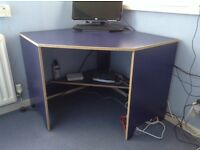 Computer table,chair and drawer