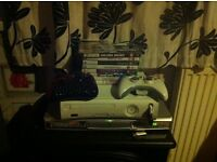 Xbox 360 with games + 2controllers