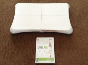 Nintendo Wii  Balance Board and Wii Fit Disc