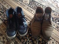 Men's shoes 2 shoes size: 43 used £4 both