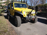 2008 Jeep Wrangler 4x4 Off Road (échange possible)