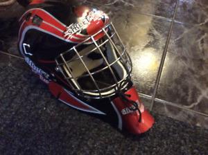 Hockey street helmet