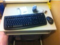 Brand new wireless key board and mouse